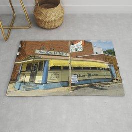 Gardner -  Massachusetts -  Diner -  Restaurant -  Classic - Vintage illustration. Retro décor. Rug