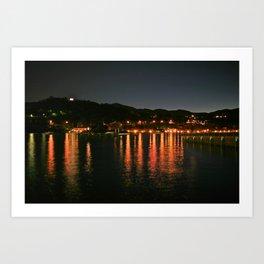 Lake Orta, Italy  Art Print
