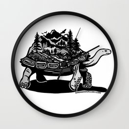 World Tortoise Wall Clock