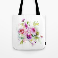 Gentle bouquet Tote Bag