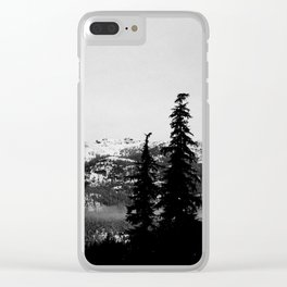 Sombre Clear iPhone Case