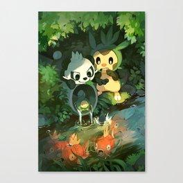 Pancham & Chespin Canvas Print