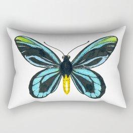 Queen Alexandra' s birdwing butterfly Rectangular Pillow