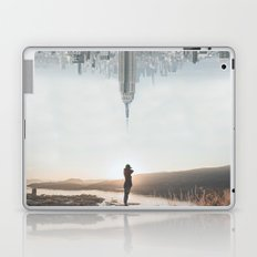 Between Earth & City Laptop & iPad Skin