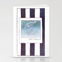 velvet underground Stationery Cards featuring velvet underground by Artista Carina