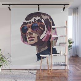 Portrait art Wall Mural