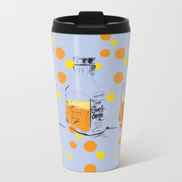 I Am Orange Lover Metal Travel Mug