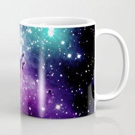 Eagle Nebula purple blue teal Coffee Mug