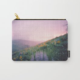 Wild Flowers in the Big Horn Mountains Carry-All Pouch