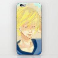 kuroko iPhone & iPod Skins featuring Kise Ryouta Kuroko No Basket by Pruoviare