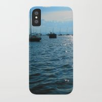 sailing iPhone & iPod Cases featuring Sailing by Rene Robinson