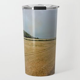 Countryside from a steam train Travel Mug
