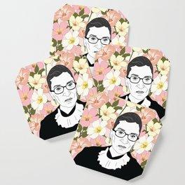 RBG Pink Floral Coaster