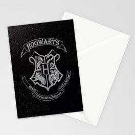 Cosmic Wizard School House Crest HP Stationery Cards