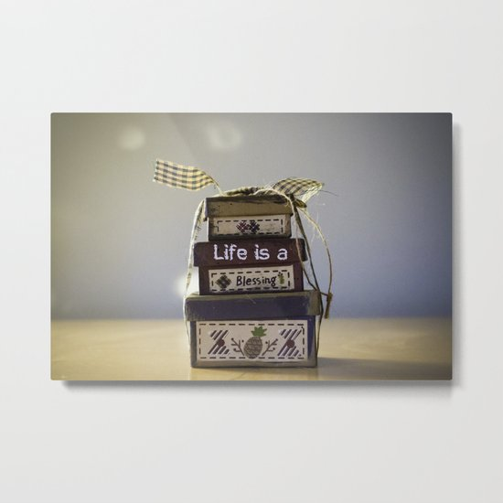 Life is a blessing Metal Print