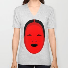 Noh, Ephemera (from Studio Glmn archives) Unisex V-Neck