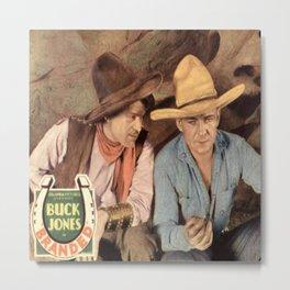 Buck Jones Western Movie Metal Print