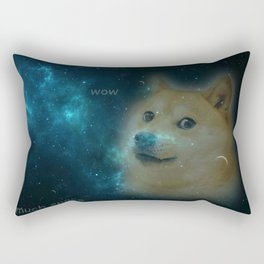 shibe doge in space Rectangular Pillow