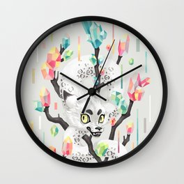 Dragon and His Treasure Wall Clock