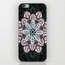 badger mandala iPhone Skin