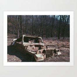 Its a Jeep thing...  Art Print