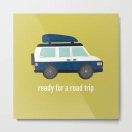 Road Trip Metal Print