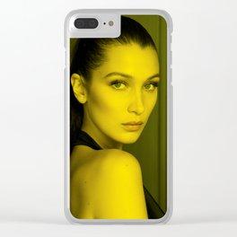 Bella Hadid - Celebrity Clear iPhone Case