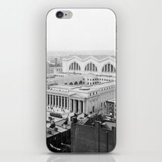 Pennsylvania Station aerial view 1910 iPhone & iPod Skin
