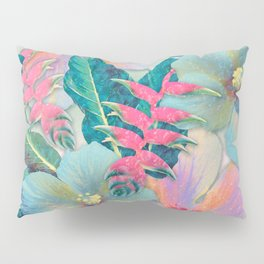 Aqua Ginger Alohas Pillow Sham