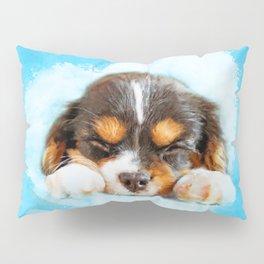 Cavalier King Charles Spaniel Puppy Pillow Sham