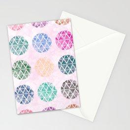 Colorful Geometric II Stationery Cards