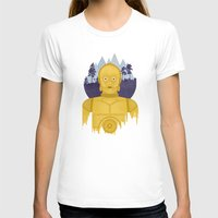 c3po T-shirts featuring C3PO by Robert Scheribel