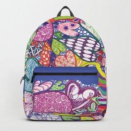 Sea of Multicolor Multiheart Multimania Backpack