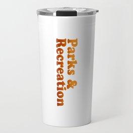 Parks and Rec Retro Travel Mug