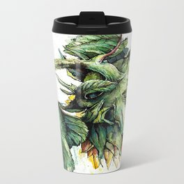 Summer Sunflower Metal Travel Mug