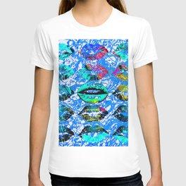 Lip-Syncing Art #decor T-shirt