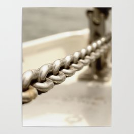 Anchor chain in detail Poster