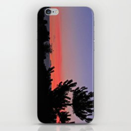 July Sunrise over London iPhone Skin