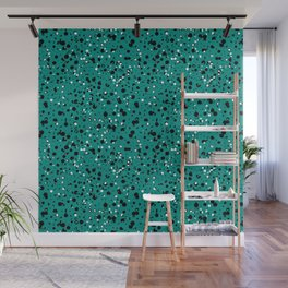 Speckled Emerald Wall Mural