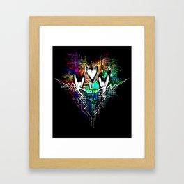 Chiptunes = Win: Upgrade Framed Art Print