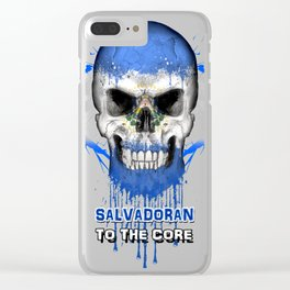 To The Core Collection: El Salvador Clear iPhone Case