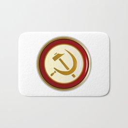 Russian Pin Badge Bath Mat