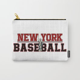 Baseball In New York Carry-All Pouch