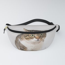 adorable striped cat Fanny Pack