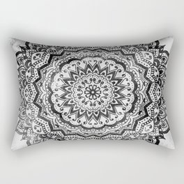 BLACK JEWEL MANDALA Rectangular Pillow