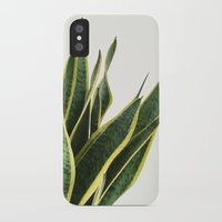 Sansevieria iPhone X Slim Case