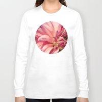 dahlia Long Sleeve T-shirts featuring Dahlia  by A Wandering Soul