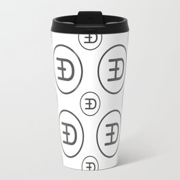 Etherdoge - Amazing Crypto Fashion Art (Large) Travel Mug
