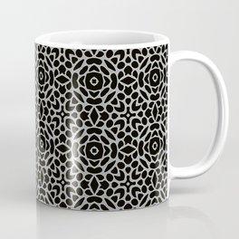 Lattice Grey Coffee Mug