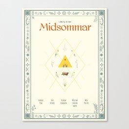 Midsommar Movie Poster Canvas Print